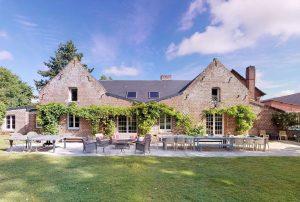 Grote-groep-vakantiehuis-in-Talmas-Noord-Frankrijk